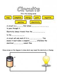 electrical circuit worksheets worksheets