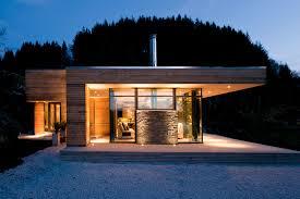 exterior modern lake house architecture riverview gardens facade