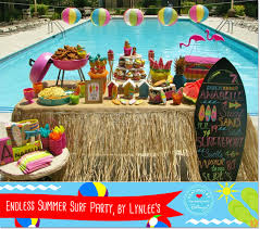 pool party ideas themed pool party birthday ideas from 5 awesome party blogs