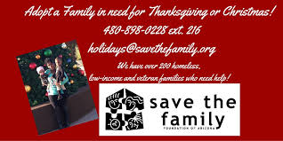 adopt a family for thanksgiving or save the family