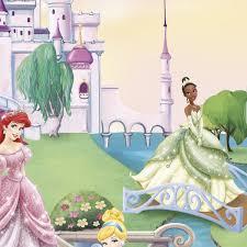 wall mural princess castle