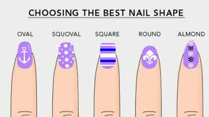 different nail shapes beauty tips dearnatural62 youtube