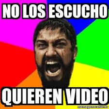 Video Meme - meme sparta no los escucho quieren video 27432444