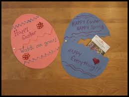 Easter Egg Decorating Ideas Preschool by Easter Egg Card Craft For Kids Easter Crafts Ideas For Kids