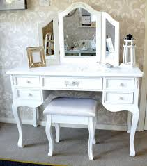 Antique White Makeup Vanity Vanities White Dressing Table With Drawers Either Side White