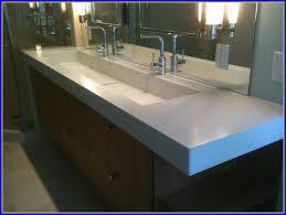 trough sink bathroom vanity bathroom home design ideas x6q7kkq7nl