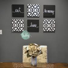 home decorators wall art black and white trellis 6 pack wall art decor dining set loversiq