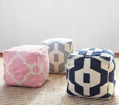 Pottery Barn Kits Pouf Pottery Barn Kids