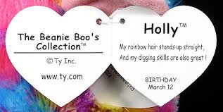 holly large ty beanie boos