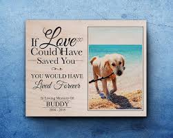 memorial gifts for loss of pet memorial gift for pet loss in memory of dog dog
