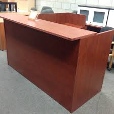 L Shaped Reception Desk Advanced Liquidators