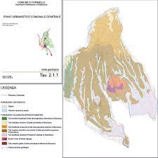 Norcia Italy Map Study For Formello Municipality P R G Geologi Associati