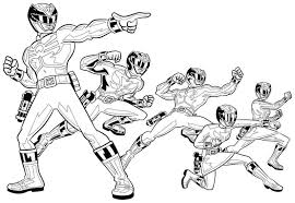 power ranger coloring pages print power rangers color