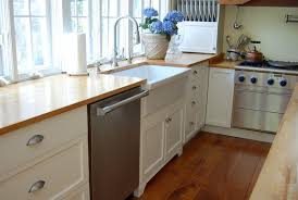 country style kitchenette with farmhouse style kitchen sink at