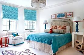nice bedroom modern blinds curtains with blue patterned for nice bedroom decor