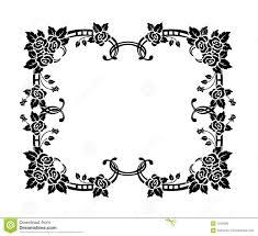 decorative border ornament royalty free stock image image 1204696