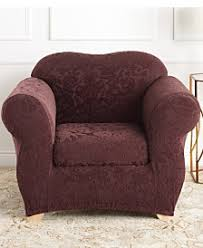 Armchair Back Covers Wing U0026 Arm Chair Couch Covers Sofa And Chair Slipcovers Macy U0027s