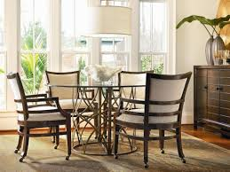 unique dining room sets dining room table with caster chairs best gallery of tables