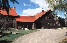 Timber Frame Barn Homes Timber Frame Barn Home Hand Hewn Beams