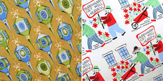 vintage wrapping paper wrapping paper up poppytalk