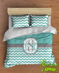 Turquoise Chevron Bedding Bedroom U2013 Swirled Peas