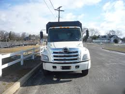 used 2011 hino 268 chipper dump truck for sale in in new jersey 11149