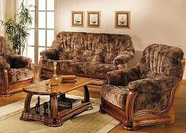canape cuir rustique meubles rembourrés classiques rustiques salons en tissu de
