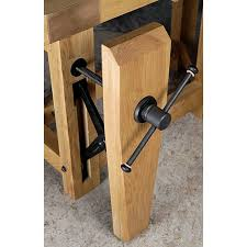 Woodworking Bench Vise Installation by Benchcrafted Classic Leg Vise