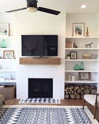 Living Room Shelf Ideas Architecture Simple Fireplace Mantles Decorating Ideas For