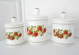 Kitchen Decor Collections Strawberry Kitchen Decor Theme Ceramics Gallery With Images
