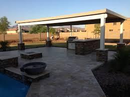 patio fire pits in arizona landscape design