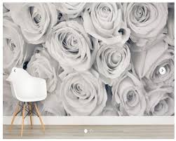 White Rose Bedroom Wallpaper Compare Prices On Wallpaper Vintage Roses Online Shopping Buy Low