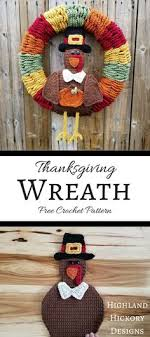 thanksgiving wreath thanksgiving wreaths and thanksgiving crochet