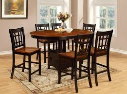 what is counter height table dara counter height dining table the brick pertaining to high top