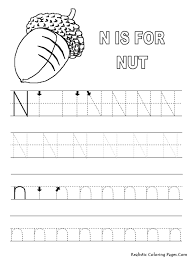 n letters alphabet coloring sheet realistic coloring pages