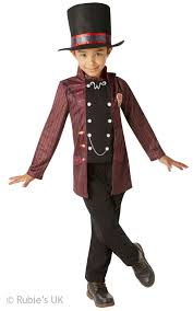 willy wonka boys costume boy u0027s world book day fancy dress