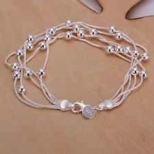 bead bracelet silver images 925 silver bead bracelet ebay jpg
