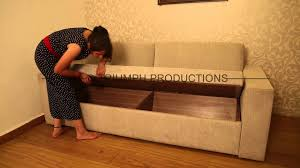 Furniture Sofa Bed Furniture Advertisement Sofa Bed With Demonstration And