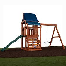 Porch Swings For Sale Lowes by Shop Swing N Slide Asheville Ready To Assemble Kit Residential