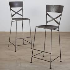 Comfortable Bar Stools Furniture Cozy Black Overstock Bar Stools With Stainless Steel