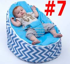 Toddler Bean Bag Chairs Diamond Geometry Pattern Children Bean Bag Chair With Safety