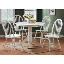 rhode island solid wood painted white pair of chairs