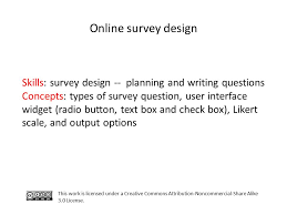 creative design brief questions online survey design this work is licensed under a creative commons