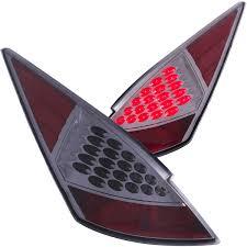 nissan 350z xenon headlight assembly anzo usa nissan 350z 03 05 l e d tail lights smoke