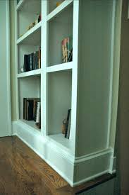 craft project fake built in bookcase