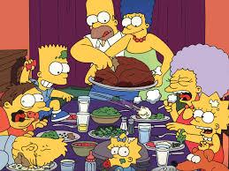 ya es habitual ver la celebración de happy thanksgiving acción de