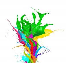 paint rainbow tree vector material dayan clipart clip art library