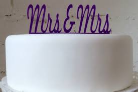mrs and mrs cake topper mrs mrs cake topper wedding in a teacup