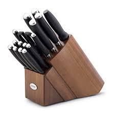 anolon kitchen knives amazon com anolon advanced cutlery 15 knife block set
