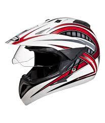 full motocross gear studds full face helmet motocross decor d2 white n2 large